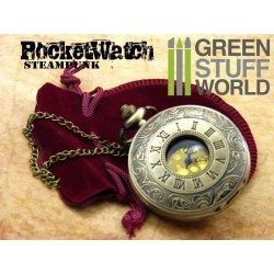 SteamPunk Pocketwatch - Gold Color