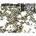 1200 Micro Screws - 0.1mm to 1.2mm