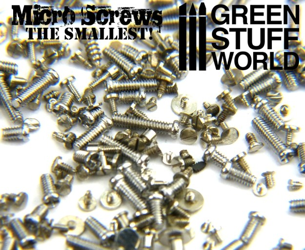 1200 Micro Screws 0 1mm to 1 2mm