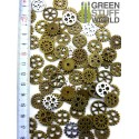 SteamPunk GEARS and COGS Beads 85gr *** 15 mm