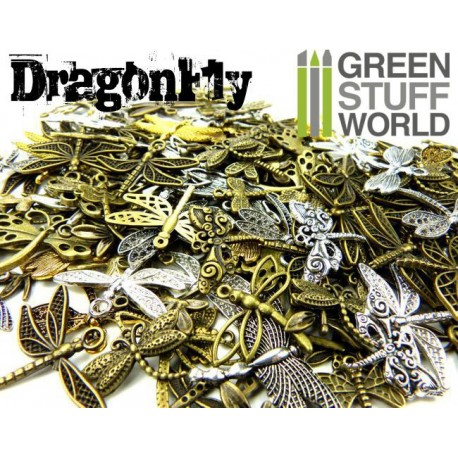 SteamPunk DRAGONFLY Beads 85gr