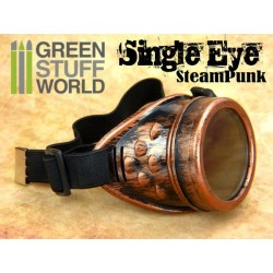 One Eyed - SteamPunk GOGGLES - Copper