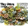 SteamPunk GEARS and COGS Beads 85gr *** 10 mm