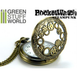 SteamPunk Pocketwatch Gears and Cogs design