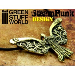 SteamPunk Clockwork DARK ANGEL Pendant