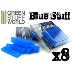 Plastique Blue Stuff 8 barres