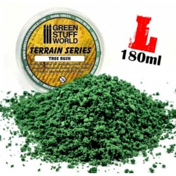 Tree Bush Clump Foliage - Dark Green - 180 ml