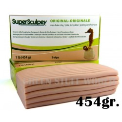Super Sculpey Beige 454 gr
