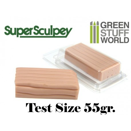 Super Sculpey Beige 55 gr. - FORMATO TEST
