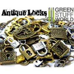 Antique Locks Beads 85gr