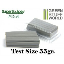 Super Sculpey Firm Gris 55 gr. - FORMATO TEST