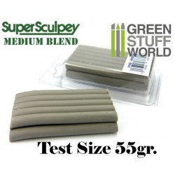 Super Sculpey Medium Blend 55 gr. - Taille d'essai