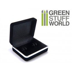 Black Pocket Cufflink Gift Boxes Case