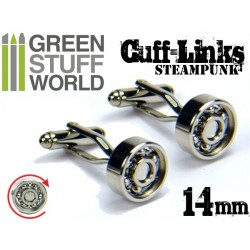 Steampunk CUFFLINKS - Bearing design