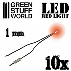 Luces LED ROJAS - 1mm