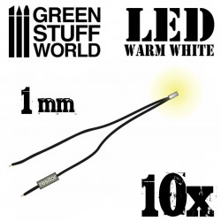 Luces LED BLANCO calido - 1mm