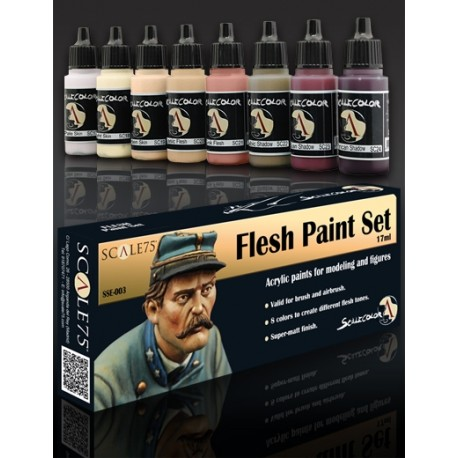 Paint Set - FLESH