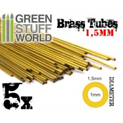 Brass Tubes 1.5mm