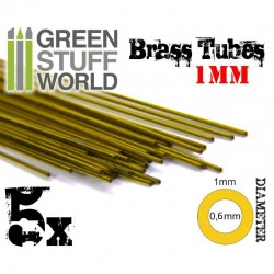 Brass Tubes 1mm