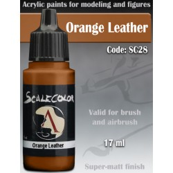 Scale75 SC-28 Orange Leather