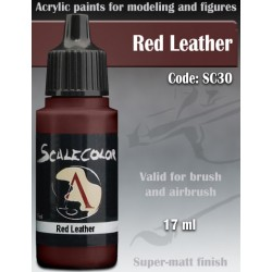 Scale75 SC-30 Red Leather