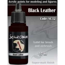 Scale75 SC-32 Black Leather