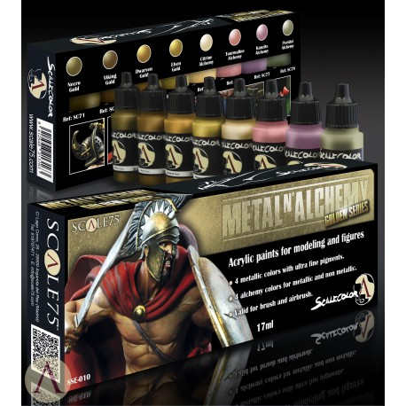 SET Pintura METAL Alchemy - ORO