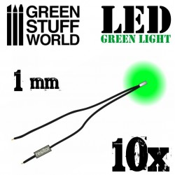 Luces LED VERDES - 1mm