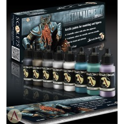 Paint Set - METAL Alchemy - STEEL