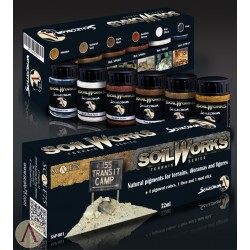 Pigemnnn Set - Scale 75 Soilworks Pigments - Soil Works Terrain Series 1
