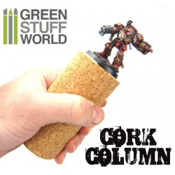 Sculpting COLUMN Cork for armatures