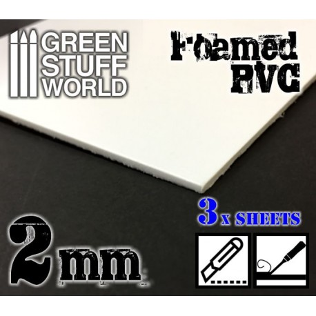 Foamed PVC 2mm