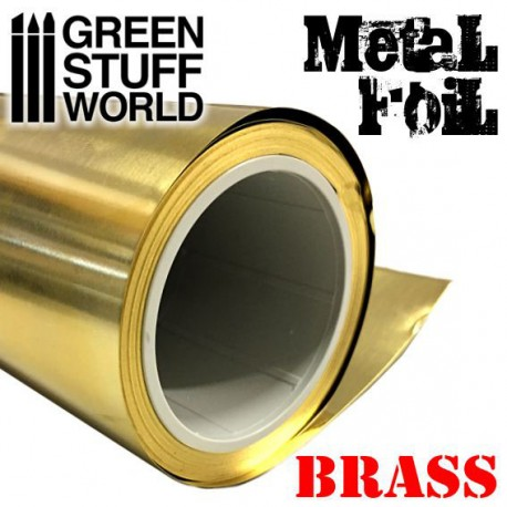 Flexible Metal Foil - BRASS