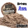 Static Grass Flock - Dry Beige - 280 ml - XL