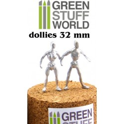 Armatures de figurines 32 mm