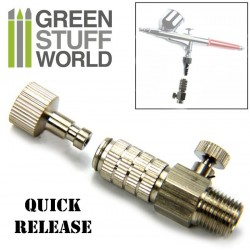 QuickRelease Adaptor with Air Flow Control 1/8""