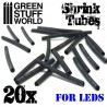 Shrink tubes for LED connections