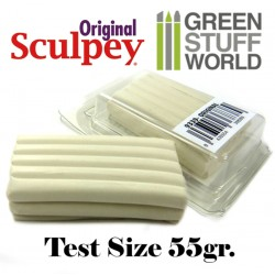 Super Sculpey Original 55 gr - TEST gross