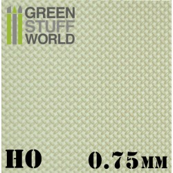 ABS Plasticard - Thread DIAMOND HO 0.75mm Textured Sheet
