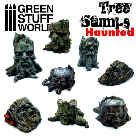 Haunted Tree Stumps