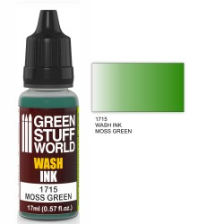 Wash Ink MOSS GREEN