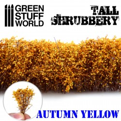 Tall Shrubbery - Autumn Yellow