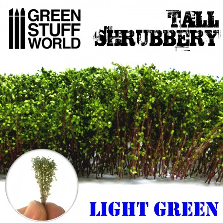 Tall Shrubbery - Light Green
