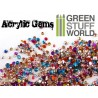1000 Acrylic Gems - 1mm to 2.5mm