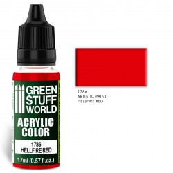 Acrylic Color HELLFIRE RED