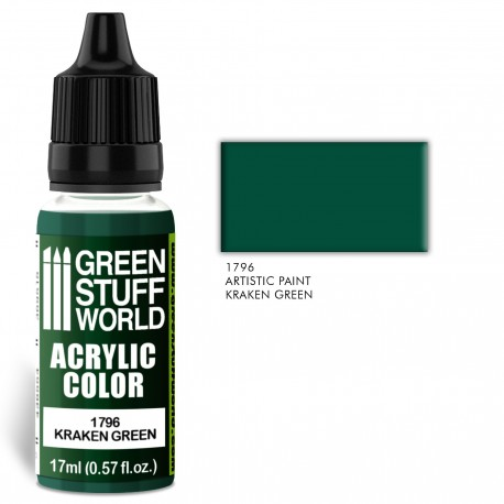 Acrylic Color KRAKEN GREEN