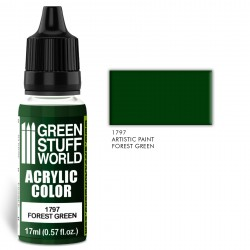 Acrylic Color FOREST GREEN