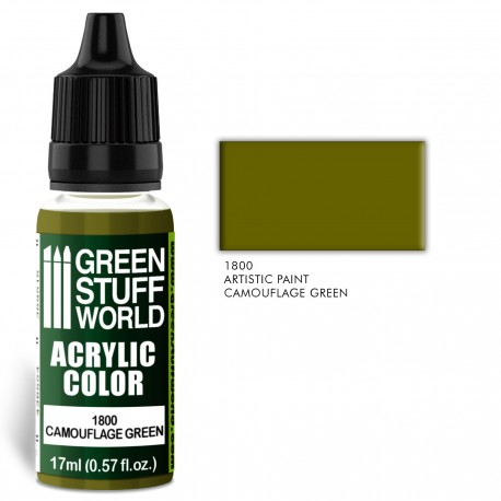 Acrylic Color CAMOUFLAGE GREEN