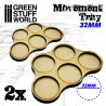MDF Regimentsbases 5x 32mm