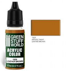 Acrylic Color LEATHER BROWN